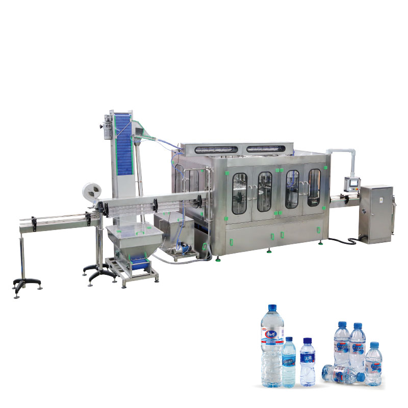 CGF Series Water Filling Line Turnkey Project